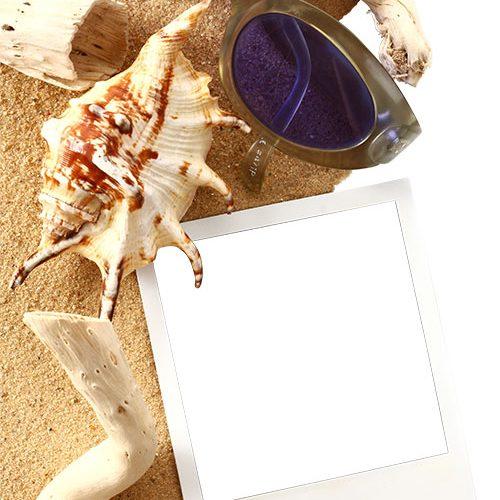 Картичка Море пясък слънце