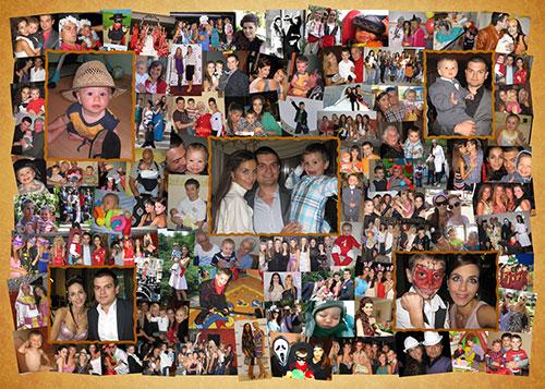 Колаж-спомен от 35 до 80 снимки