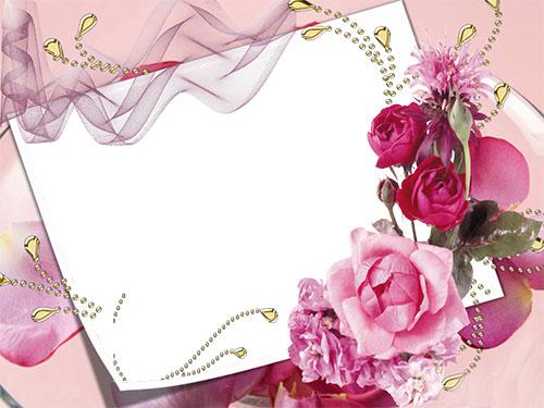 Картичка Букет от цветя по Ваша идея