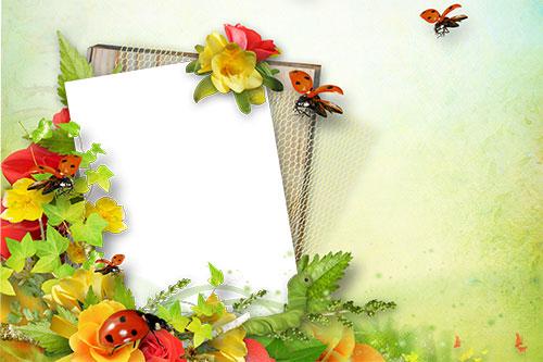 Картичка Красива пролет по Ваша идея