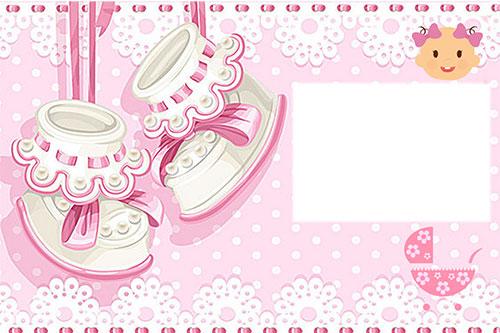 Картичка Честито Бебе по Ваша идея