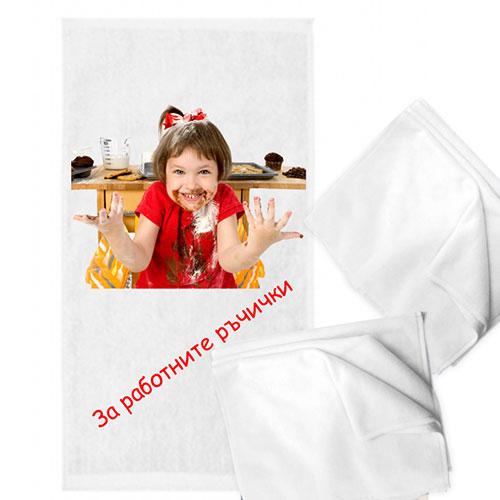 Хавлиена кърпа с вертикална снимка-персонализиран подарък